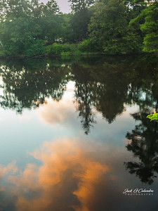 Pond Reflection #1--Franklyn NH 2012