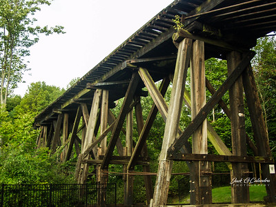Old Rail Road Bridge--Franklyn, NH 2012