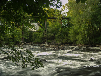 Swift River and Bridge--Franklyn, NH