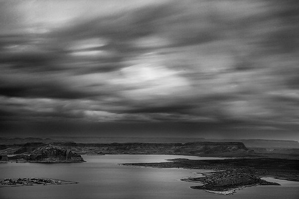"""Stormy evening""<br /> <br /> A stormy evening from Lake Powell Overlook."