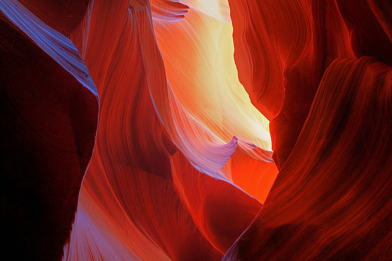 """Art of reflecting light""<br /> <br /> Reflected light on the canyon walls are one the coolest things ever!"