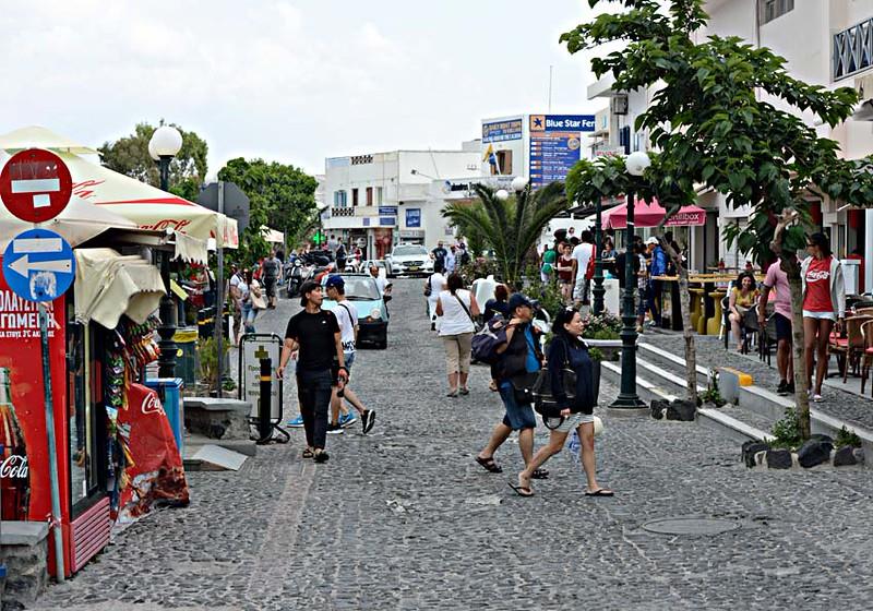 Main Street, Fira