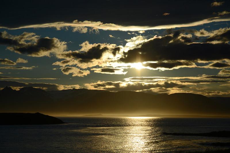 Late Evening (11:30 pm - sun never dropped below horizon)
