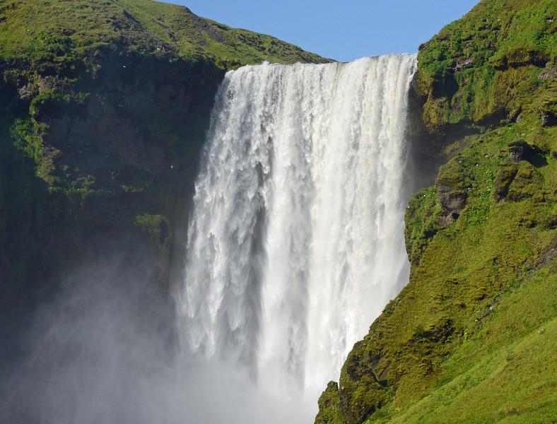 Skojafoss Waterfalls, SW