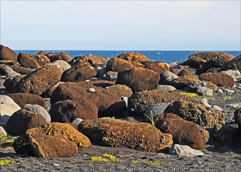 Rocks at Black Sand Beach