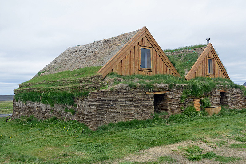 Sod Covered Houses (walls 6 ft. thick)