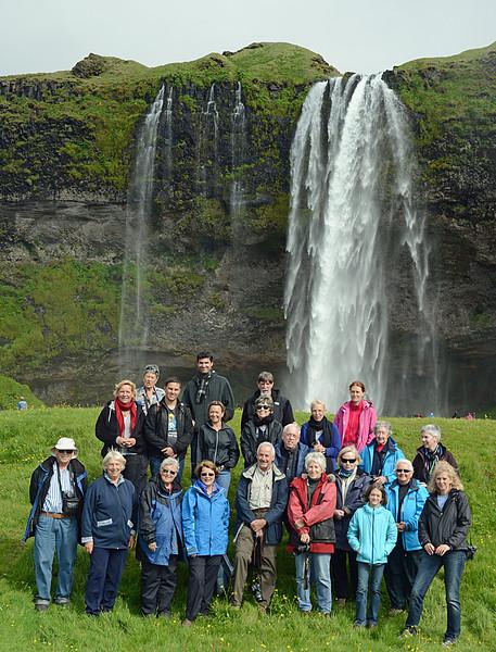 Tour Group at Waterfalls