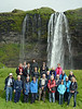 Tour Group at Waterfalls