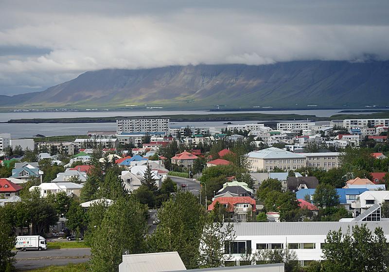 Reykjavik (Capitol) from Hilton Hotel, 9th floor