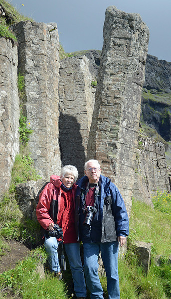 J&J with Basalt Formations