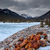 Snake River, Jasper in the Winter