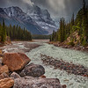 Storm at Columbia Icefields, Jasper