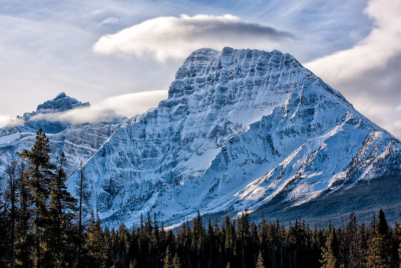 Fryatt Mt in Jasper