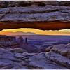 Morning glow at Mesa Arch