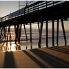 Sunset Pier at Imperial Beach