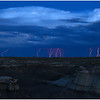 Thunderstorms viewed from Valley Of Dreams (VOD)
