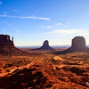 The Three Buttes, Monument Valley