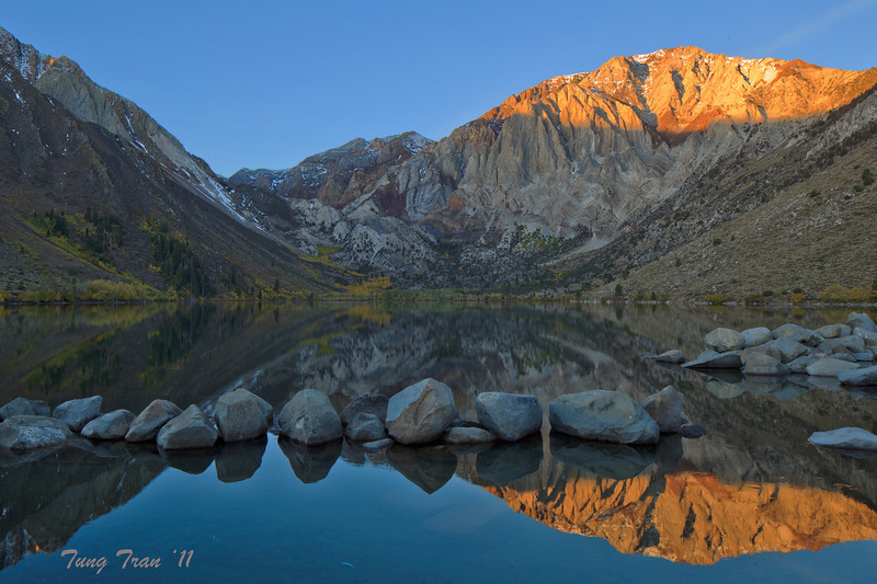 Sunrise Convict Lake, Eastern Sierras, California