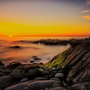 Sunset at Monterey Beach
