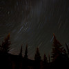 """Time pass""<br /> <br /> A 35min exposure capturing the star trails."