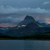 """Swiftcurrent lake""<br /> <br /> The last bit of color as the sun goes to sleep."
