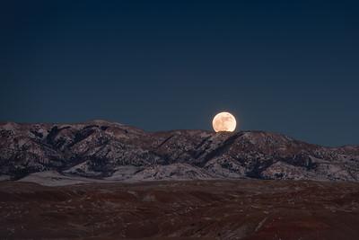 The Rising Super Moon