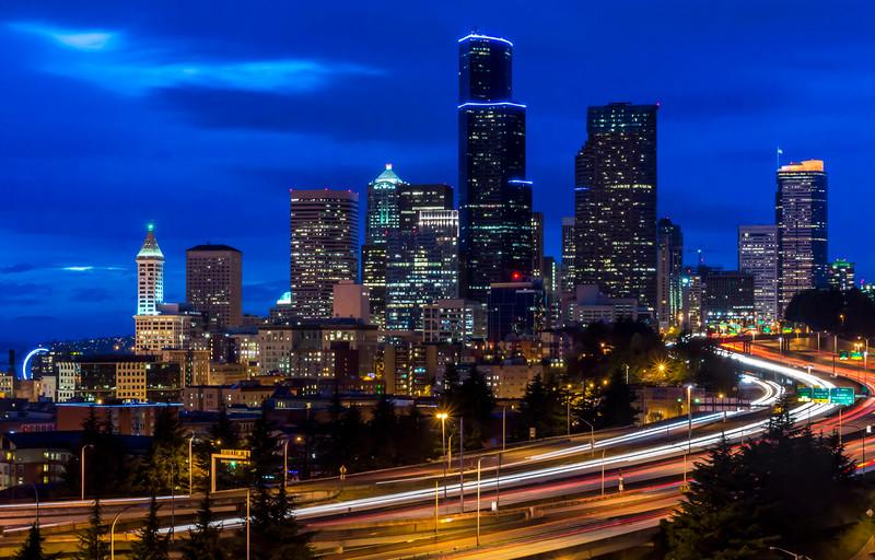 Seattle Skylines,WA