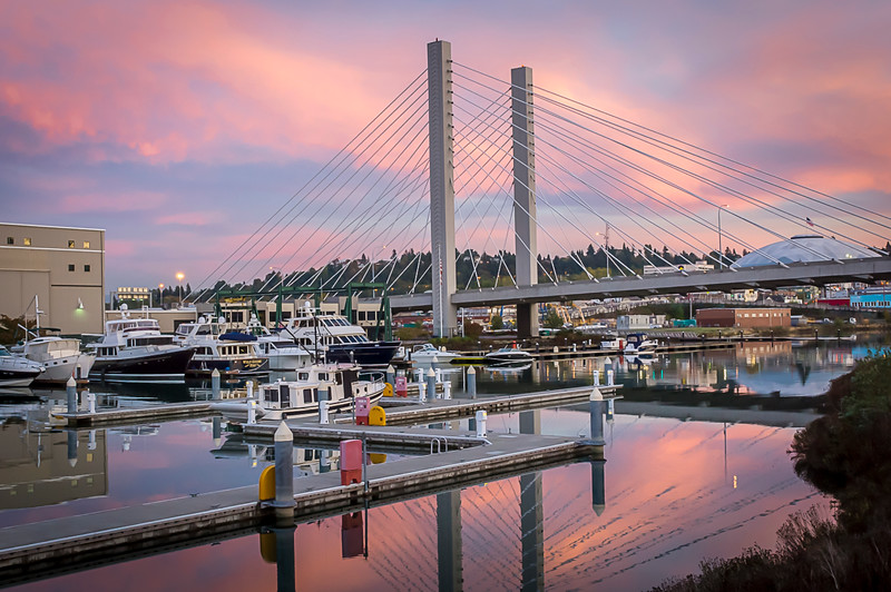 Foss Waterway,Tacoma WA
