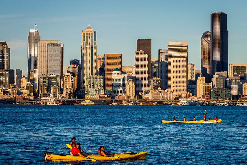 Summer In Seattle, Alki Beach