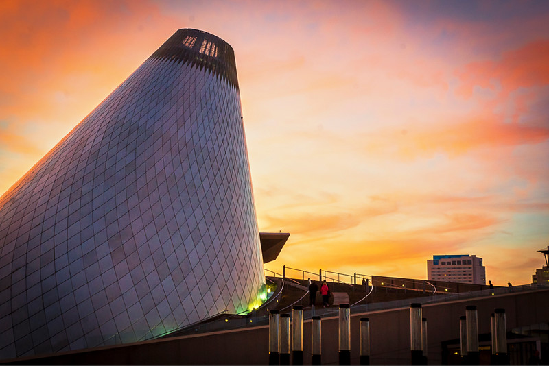 Museum Of Glass Tawer Tacoma,Wa