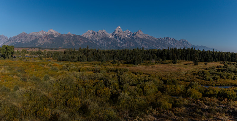 Blaktail Pond Overlook in Grand Teton