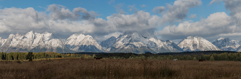 Grand Teton Winter in September