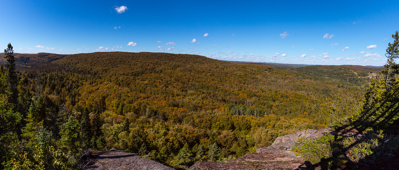 Lutes Mountain in Fall