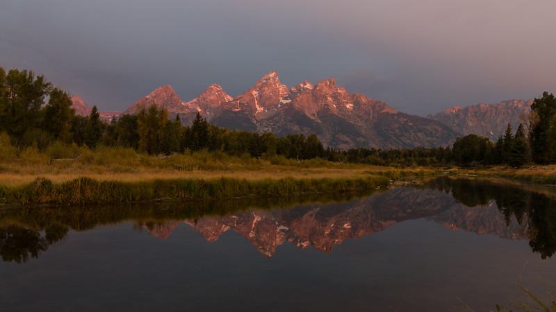 Glorious Sunrise at Grand Teton