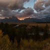 Sunset at Snake River Overlook