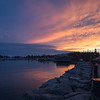 Sunset in Grand Marais, Minnesota