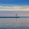 Grand Marais Lighthouse at Superior Lake