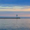 Grand Marais Lighthouse at Superior Lake