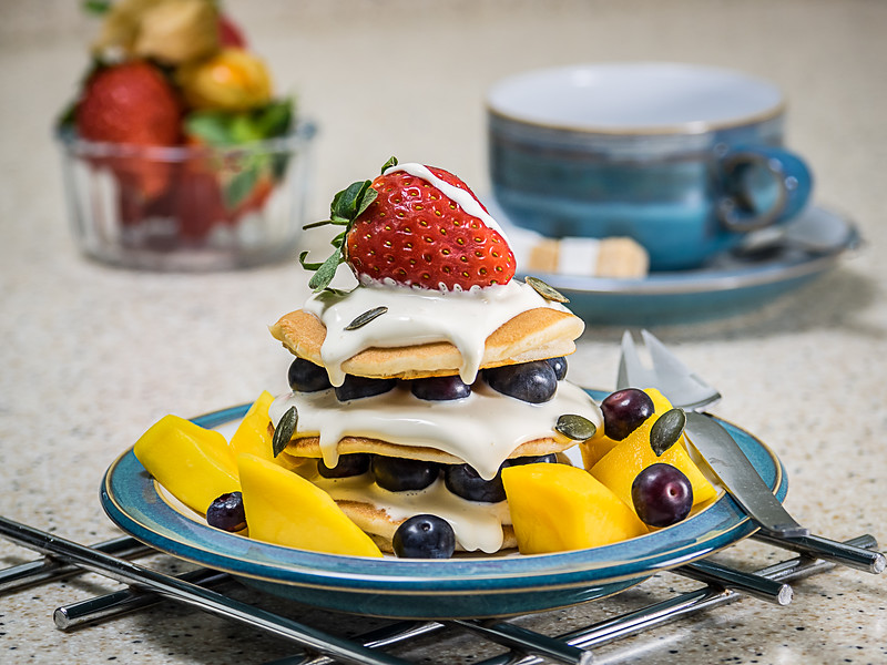 Triple Fruit Pancake