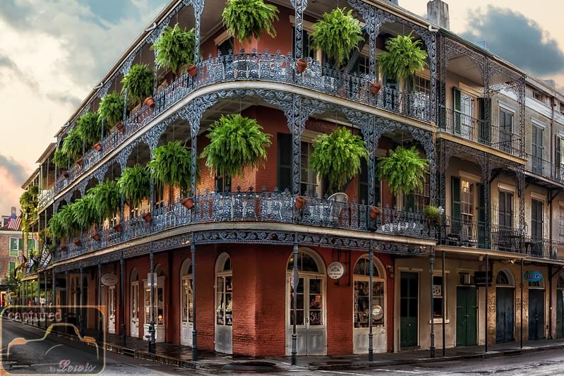 Royal Street Balconies