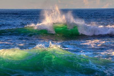 Glowing Waves