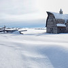 Winter in The Peace Country, Alberta