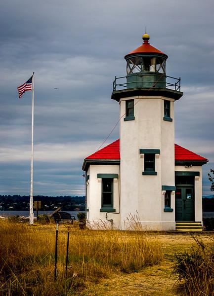 Point Robinson Light House Vashon Island WA