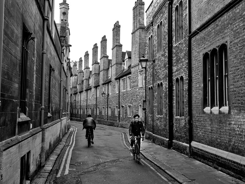 Chimneys and Bicycles