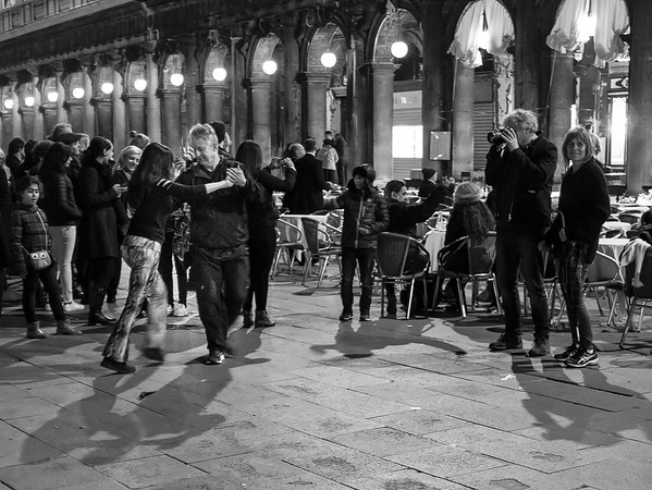 Dancing in St Mark's