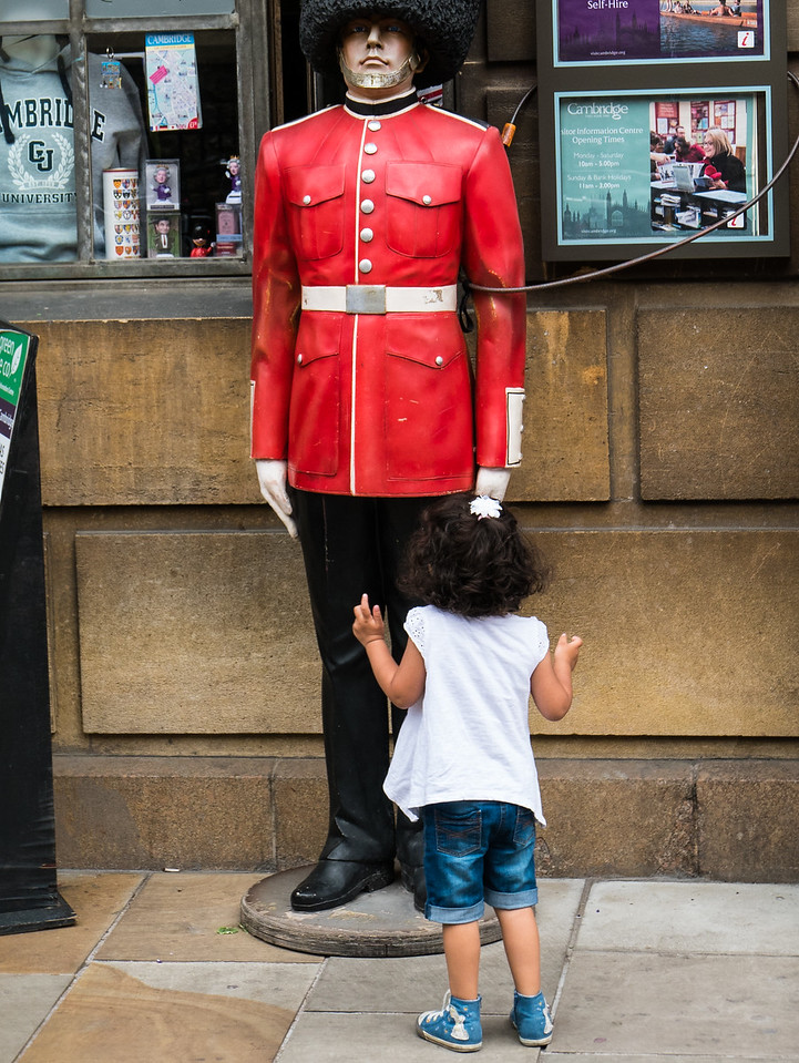Guard and Child