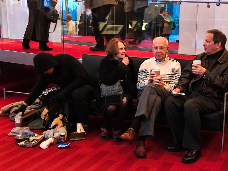 Sharing a Bench, Kennedy Center