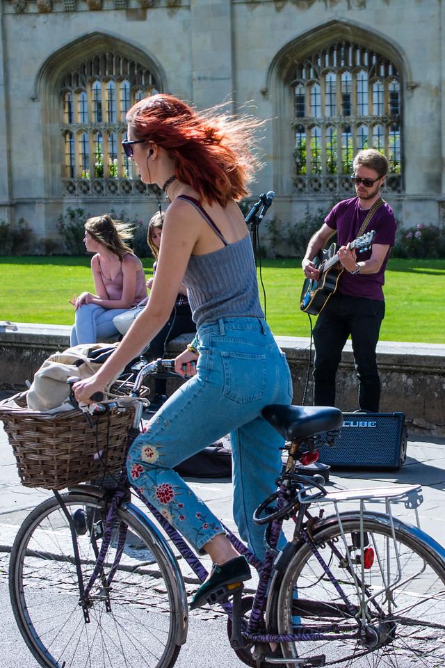 Redhead biker