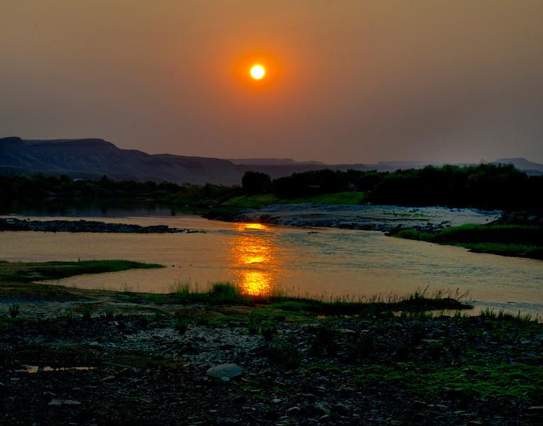 African Sunrise 14x11