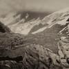 Glacier bay b-w
